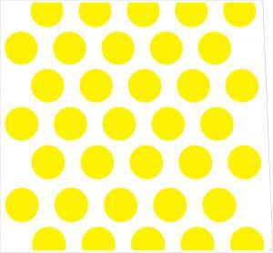 Polkadot Yellow Style