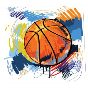 Basketball Painting Style