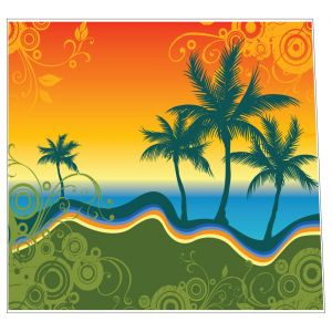 Palm Trees Style