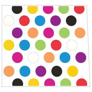 Polkadot Multicolor Style