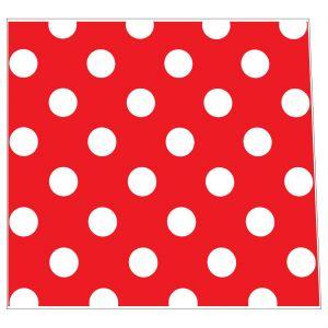 Polkadot Red & White Style