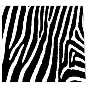 Zebra Animal Print Style Insert