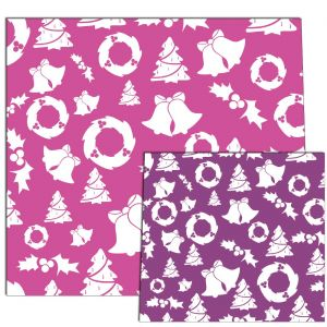 Pink / Purple Christmas Style