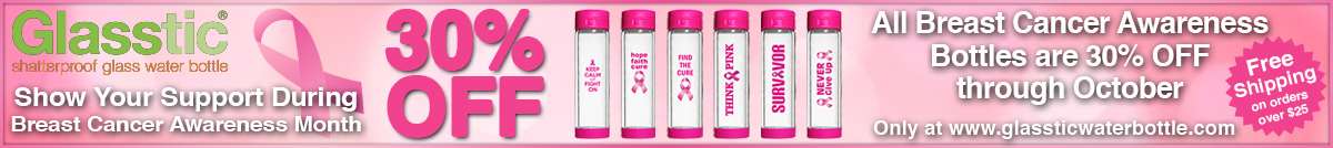 Breast Cancer Awareness Bottles