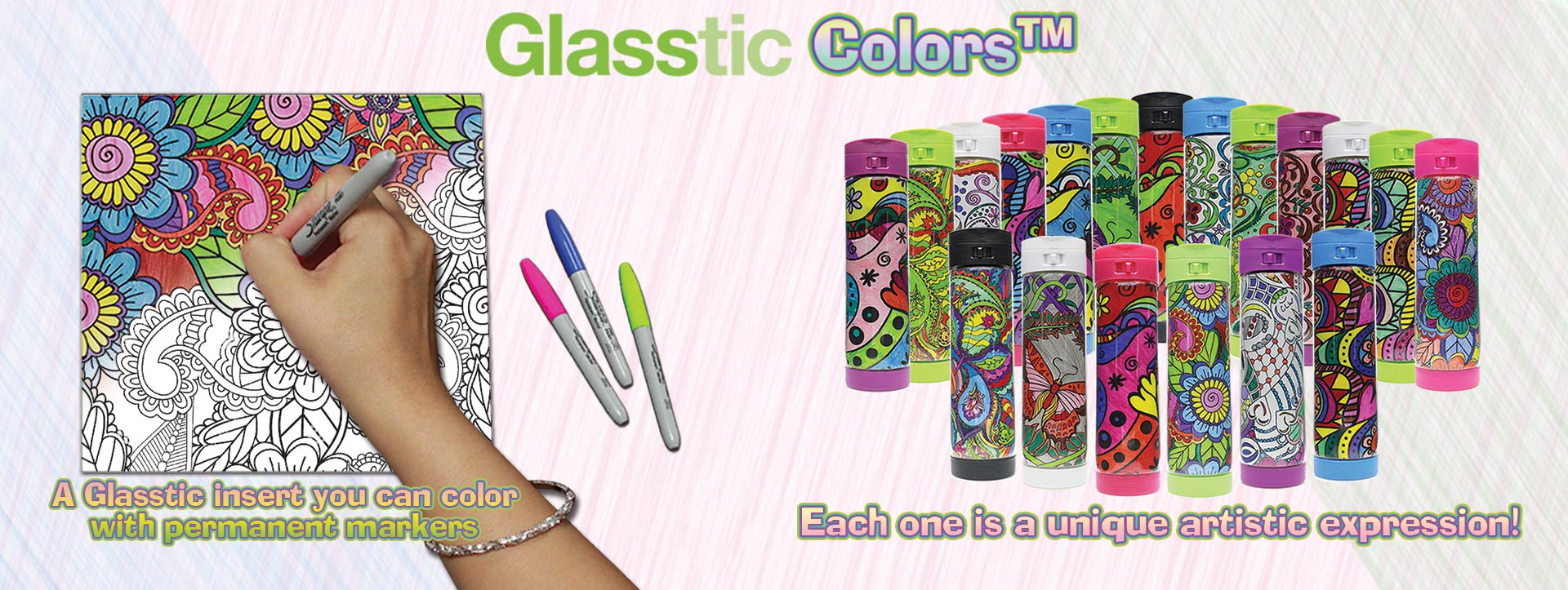 Glasstic Colors??