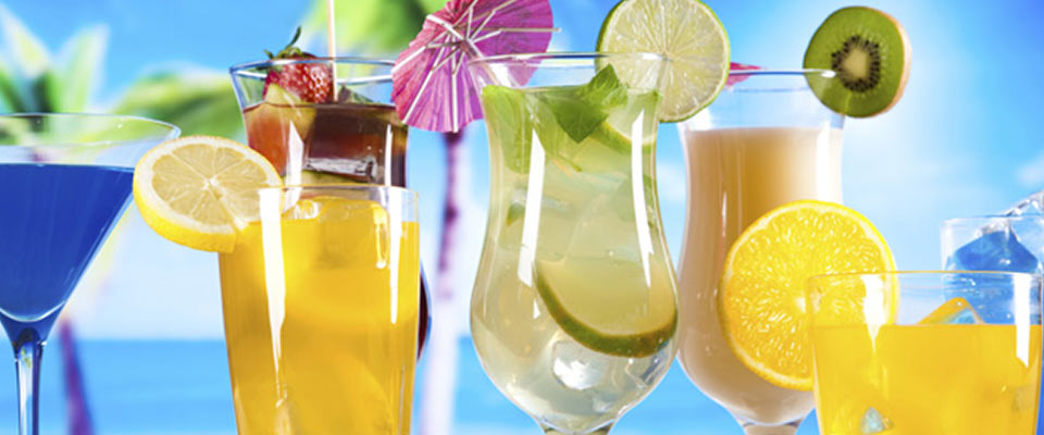 Glasstic with Cold Beverages
