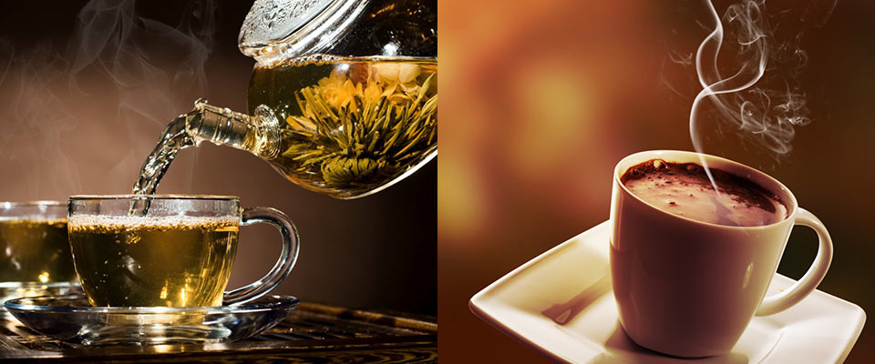 Glasstic with Hot Beverages