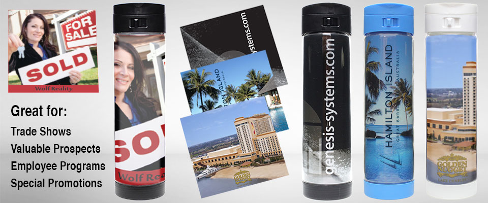 Glasstic - Awesome marketing possibilities