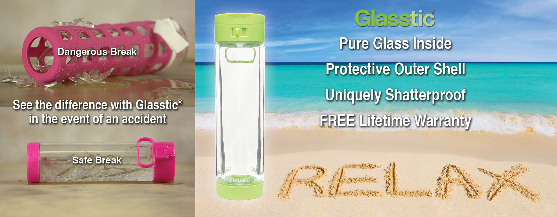 Glasstic - See the difference